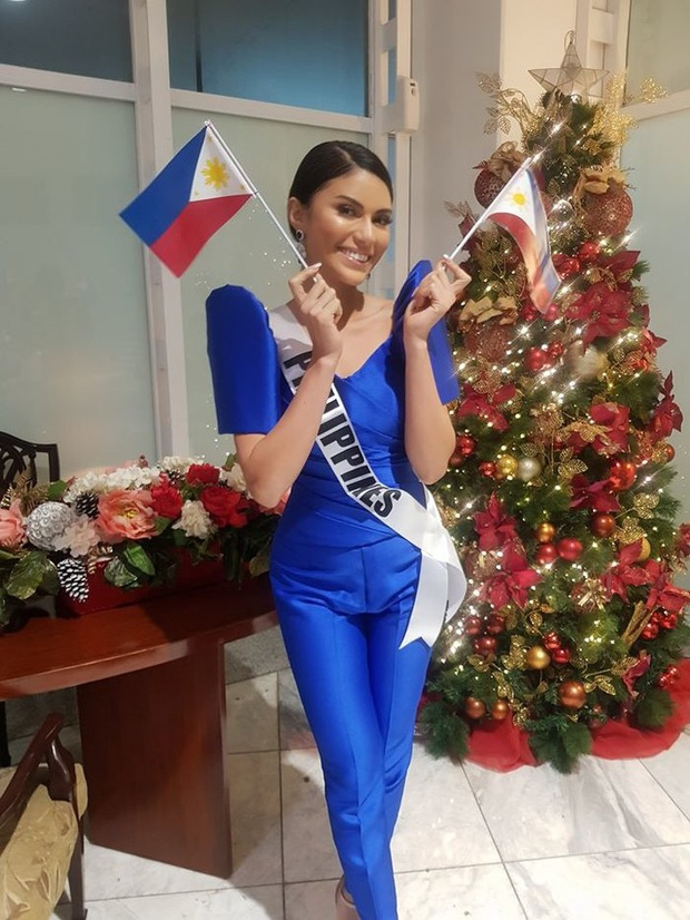 Ngược nắng ngược sông cũng không éo le bằng Hoa hậu Philippines: Mặc ngược quần khiến dân tình hiểu lầm là lộ vùng cấm địa - Ảnh 1.