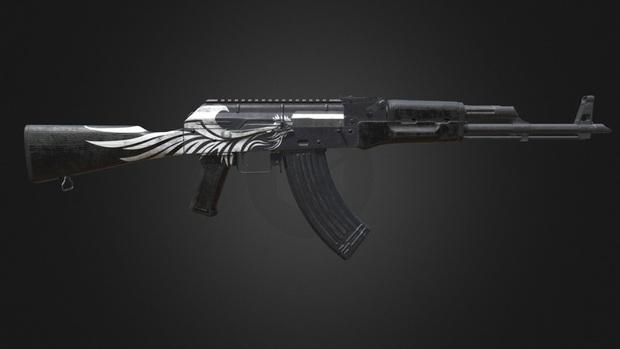 PUBG: 5 skin vũ khí đẹp tuyệt vời cực ngầu cho dân ghiền chạy bo - Ảnh 4.