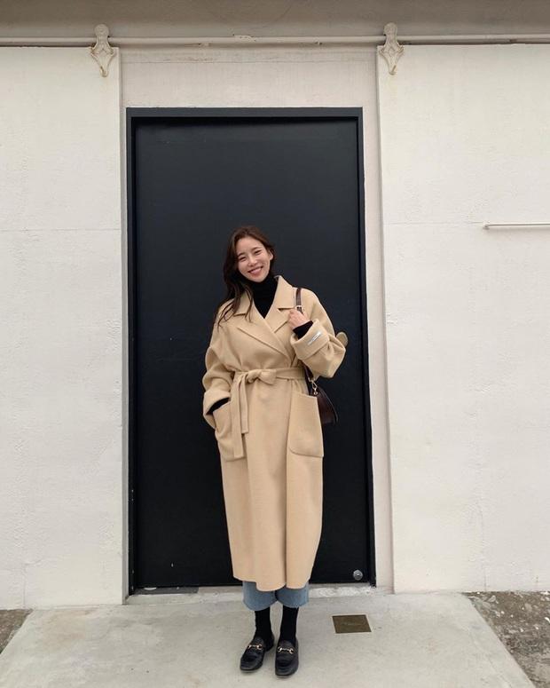 Trời chuyển lạnh, chị em cần trau dồi ngay 4 tips diện áo khoác giúp vóc dáng như gầy đi vài kilogram - Ảnh 7.