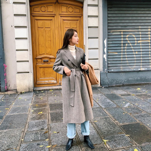 Trời chuyển lạnh, chị em cần trau dồi ngay 4 tips diện áo khoác giúp vóc dáng như gầy đi vài kilogram - Ảnh 8.