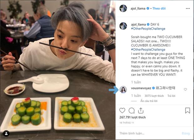 Amber Liu bị Krystal F(X) bơ đẹp chỉ vì đăng ảnh ăn món salad dưa chuột mà cô nàng ghét cay ghét đắng? - Ảnh 1.