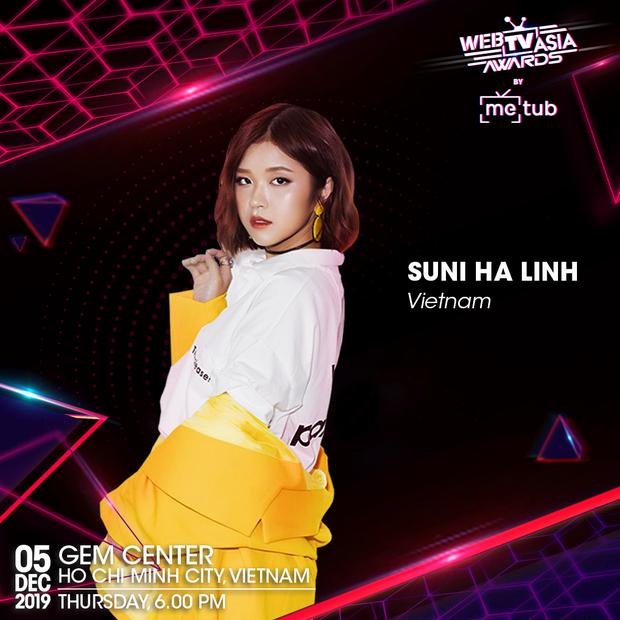 Chi Pu, Đen Vâu, AMEE, Suni Hạ Linh được chọn mặt gửi vàng để trình diễn chung sân khấu với Diva Hongkong Fiona Fung tại WebTVAsia Awards 2019 - Ảnh 4.