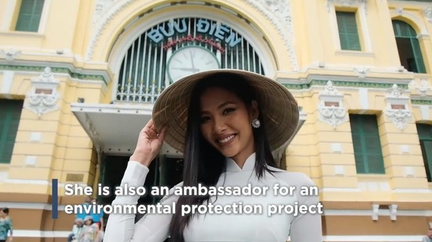 Hoàng Thuỳ khiến khán giả nở mặt khi xuất hiện nổi bật trên Instagram hơn 3 triệu follow của Miss Universe - Ảnh 2.