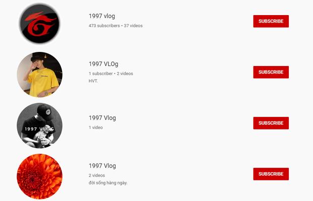 1977 Vlog bị nhái hàng loạt trên YouTube: Hết trò kiếm fame nên bôi ra 1997, 1777 Vlog để đó cho vui? - Ảnh 3.