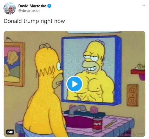 Tổng thống Trump đăng ảnh chế lên MXH, tự nhận mình có khuôn ngực nở nang để rồi bị dân mạng troll không thương tiếc - Ảnh 2.