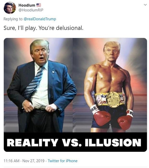 Tổng thống Trump đăng ảnh chế lên MXH, tự nhận mình có khuôn ngực nở nang để rồi bị dân mạng troll không thương tiếc - Ảnh 3.