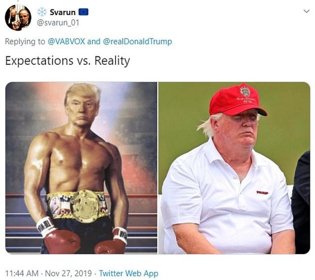 Tổng thống Trump đăng ảnh chế lên MXH, tự nhận mình có khuôn ngực nở nang để rồi bị dân mạng troll không thương tiếc - Ảnh 4.
