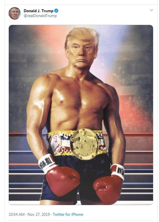 Tổng thống Trump đăng ảnh chế lên MXH, tự nhận mình có khuôn ngực nở nang để rồi bị dân mạng troll không thương tiếc - Ảnh 1.