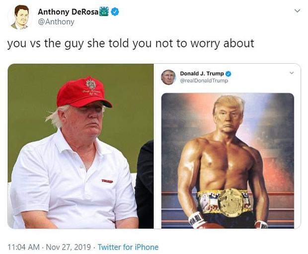 Tổng thống Trump đăng ảnh chế lên MXH, tự nhận mình có khuôn ngực nở nang để rồi bị dân mạng troll không thương tiếc - Ảnh 9.