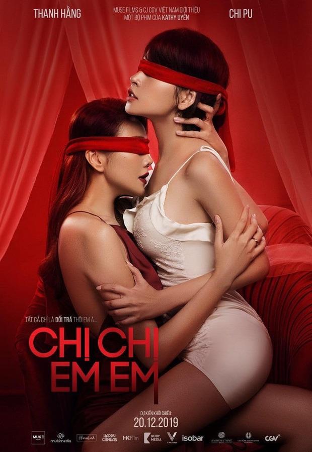 CỰC SỐC: Lộ clip Chi Pu chủ động khoá môi Thanh Hằng gần 1 phút ở Chị Chị Em Em - Ảnh 7.