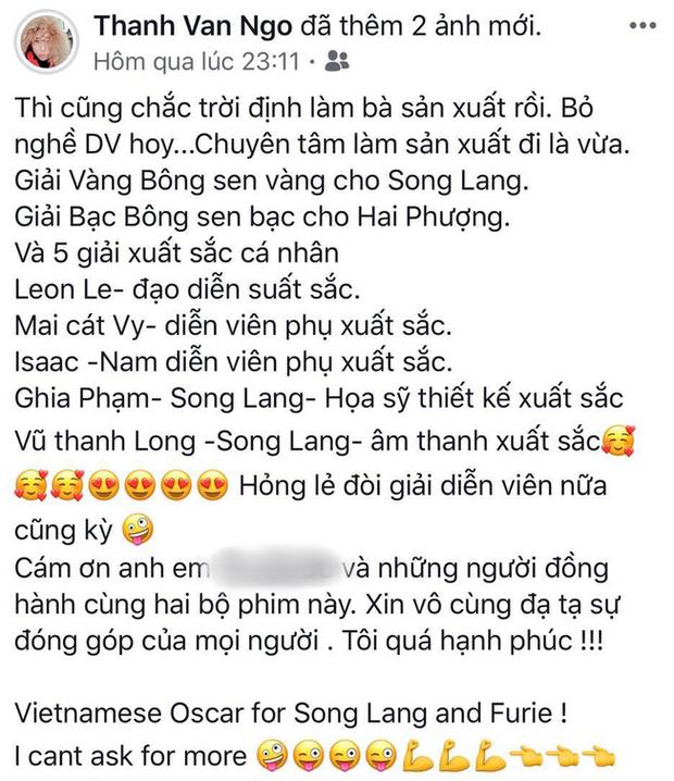 Xuân Lan phẫn nộ tố LHP Việt Nam 2019 bất công vì ngó lơ Ngô Thanh Vân, chính chủ đáp luôn: Chỉ mày hiểu bộ lòng tao! - Ảnh 5.