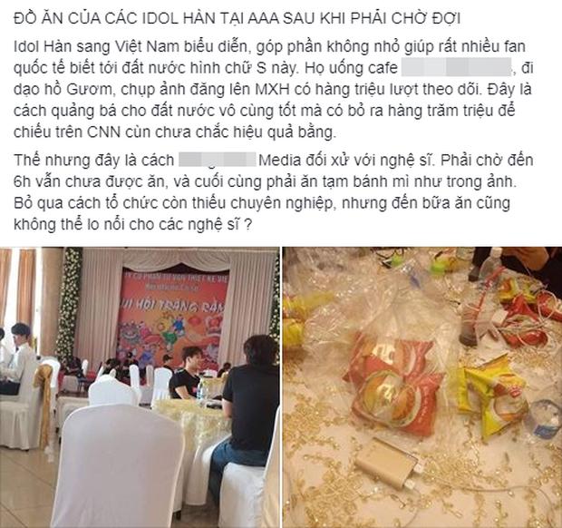 Góc khuất lễ trao giải tầm cỡ quy tụ 100 sao AAA 2019: 1001 phốt, BTC Hàn-Việt đổ lỗi lẫn nhau và chỉ có fan chịu thiệt - Ảnh 14.
