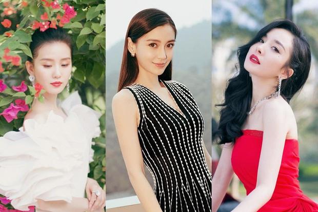 Bàn cân so sánh 5 tiểu Hoa đán hậu 85: Dương Mịch - Angela Baby lận đận tình duyên, Triệu Lệ Dĩnh có quá nhiều mối lo ngại - Ảnh 1.
