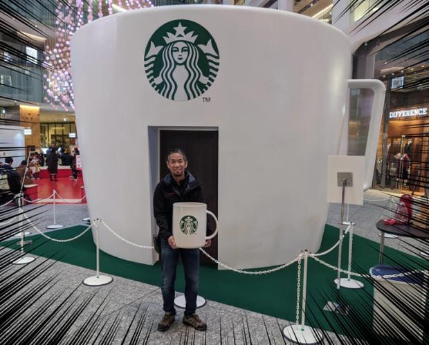 Starbucks lại khiến dân tình mắt chữ A, miệng chữ O với phiên bản ly sứ siêu to khổng lồ nặng tới 9,5kg - Ảnh 4.