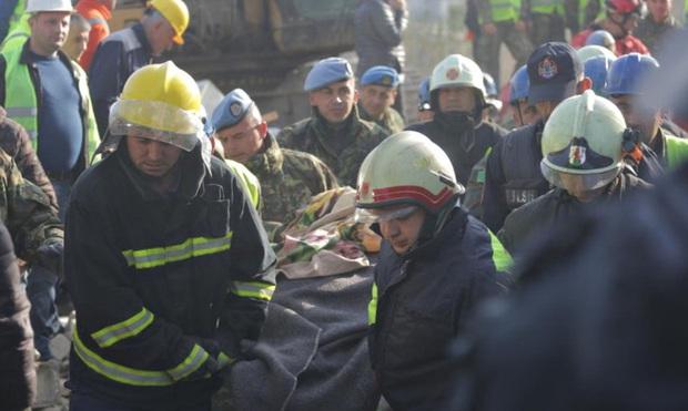 Động đất mạnh ở Albania, gần 700 người thương vong - Ảnh 1.