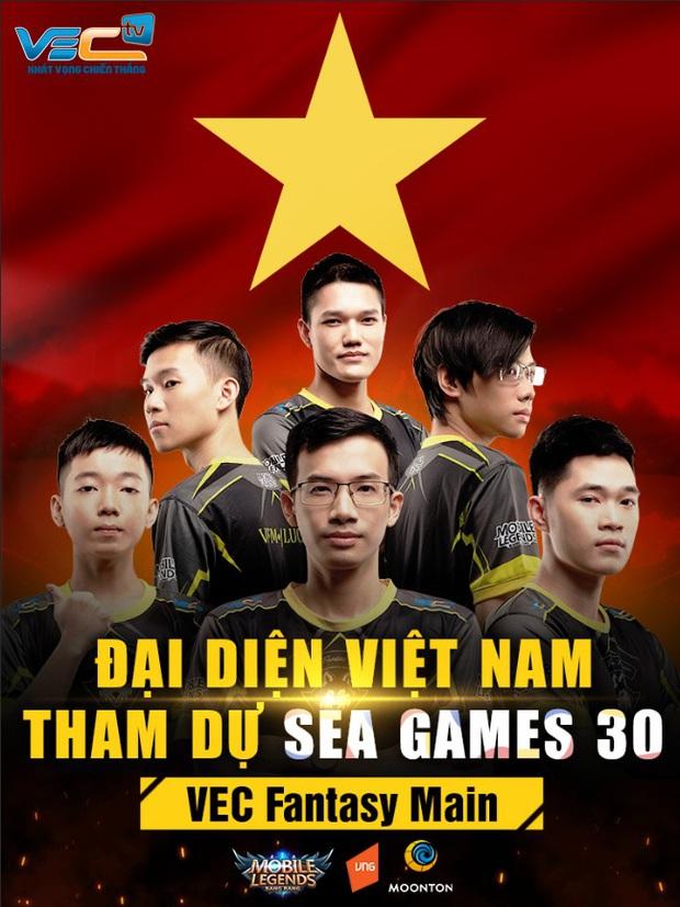 Chân dung binh đoàn soái ca VEC Fantasy Main của Mobile Legends: Bang Bang Việt Nam tham dự đấu trường SEA Games 30 - Ảnh 1.