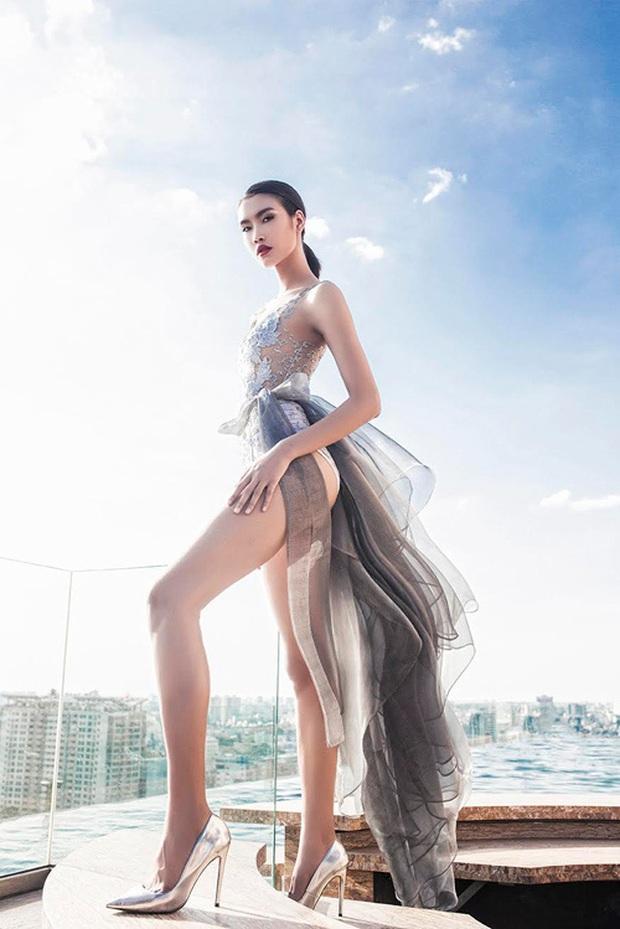 Cựu thí sinh Next Top Model nào đủ sức đánh bại đôi chân dài 1m22 của Lương Thùy Linh? - Ảnh 7.