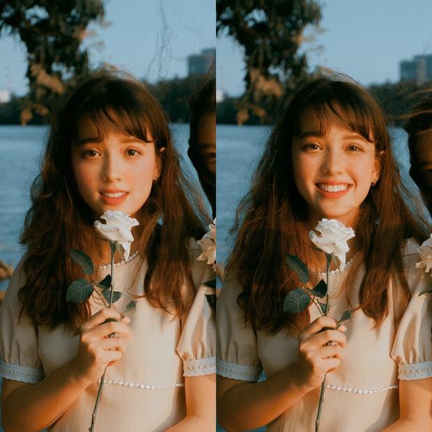 Nữ du học sinh Việt 16 tuổi tại Australia khiến dân tình ngẩn ngơ vì vẻ đẹp trong trẻo, gây thương nhớ - Ảnh 1.