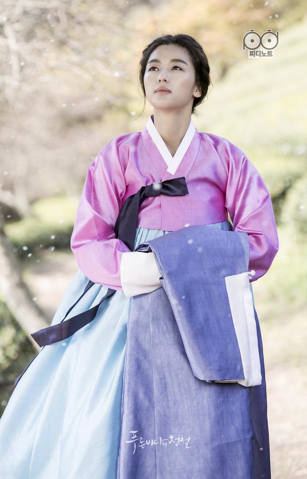 Lên núi tu ba năm, mợ chảnh Jeon Ji Hyun rục rịch tái xuất với bom tấn cổ trang của Netflix? - Ảnh 5.