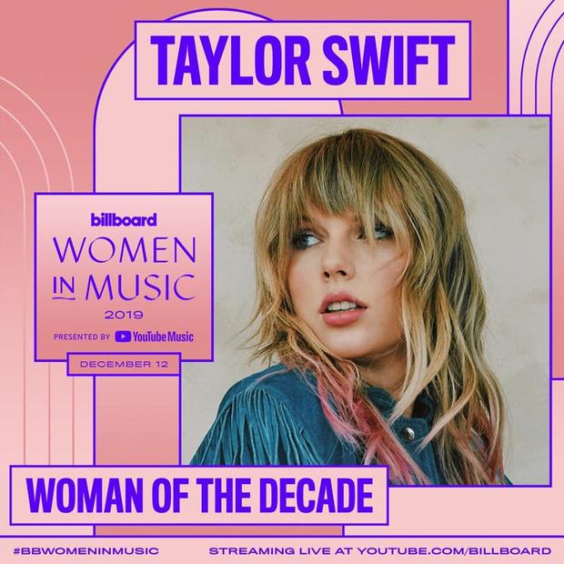 """""""Thánh tiên tri"""" Taylor Swift: Năm 2014 buông mồm nói 1 câu mà đoán trúng phóc Billie Eilish sẽ giành giải thưởng Người Phụ Nữ Của Năm? - Ảnh 6."""