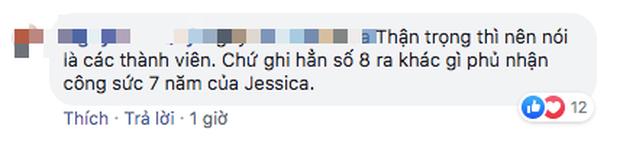 Netizen phản ứng trái chiều khi Taeyeon nhắc đến con số 8 thành viên: Jessica không debut cùng SNSD hay gì? - Ảnh 6.