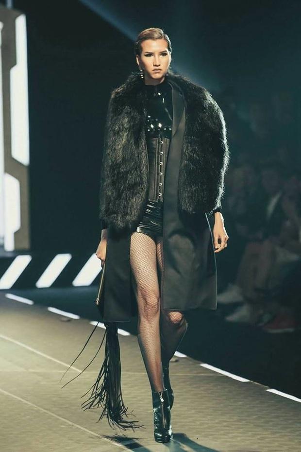 Cựu thí sinh Next Top Model nào đủ sức đánh bại đôi chân dài 1m22 của Lương Thùy Linh? - Ảnh 4.