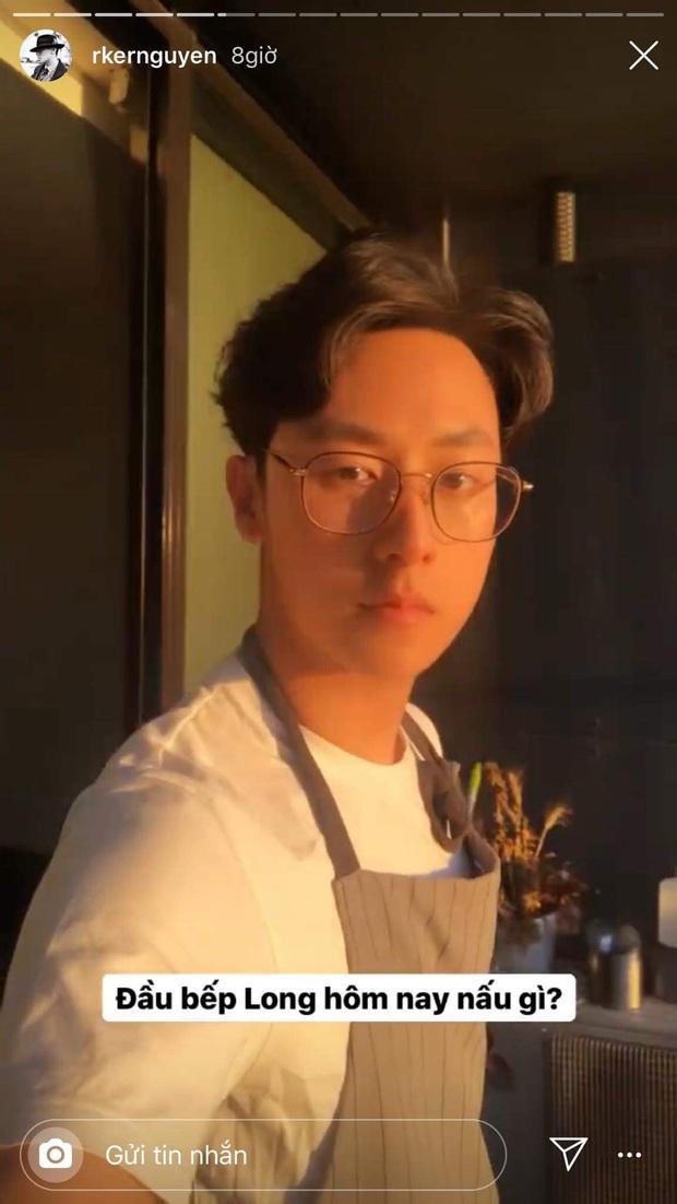 Đầu bếp Rocker Nguyễn trổ tài nấu ăn cho bạn gái, hội fangirl xuýt xoa: Lấy anh về được ngắm trai đẹp và ăn ngon cả đời! - Ảnh 3.