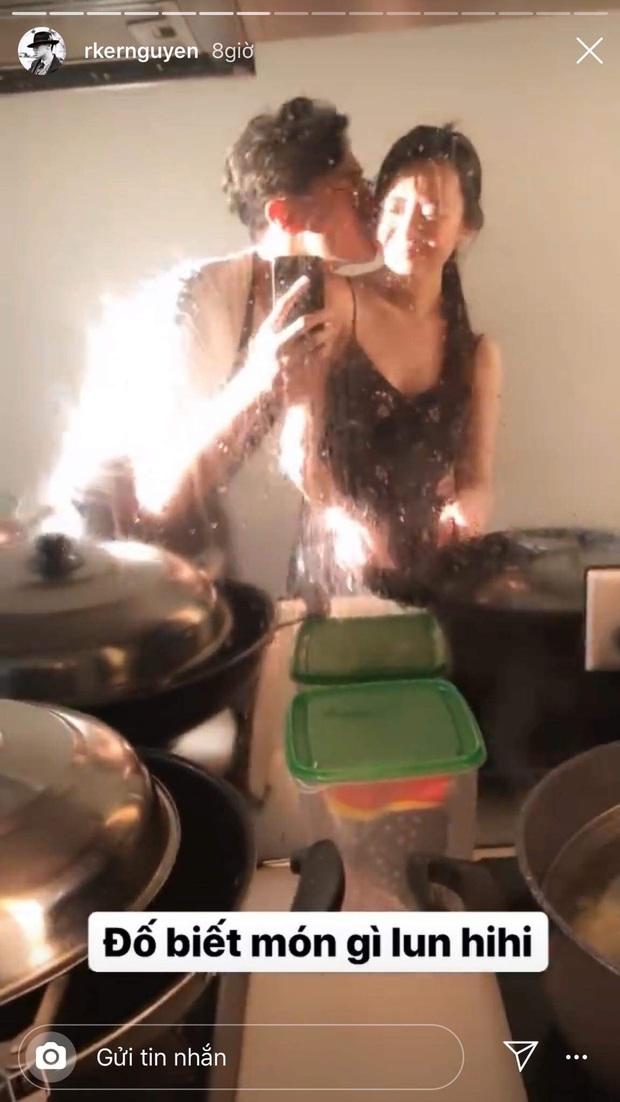 Đầu bếp Rocker Nguyễn trổ tài nấu ăn cho bạn gái, hội fangirl xuýt xoa: Lấy anh về được ngắm trai đẹp và ăn ngon cả đời! - Ảnh 2.
