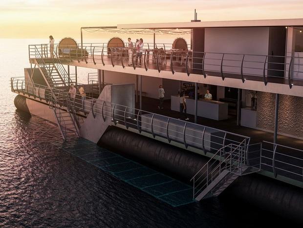 """Khách sạn """"ba chìm bảy nổi"""" cho du khách ngủ cùng… cá dưới biển, dịch vụ tuyệt hảo nhưng lại không có wifi - Ảnh 6."""