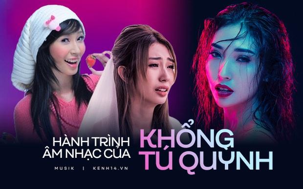 Hơn 10 năm đi hát của Khổng Tú Quỳnh: Từ cô bé dâu tây, nàng công chúa từng bị lãng quên và giờ đã trở lại một cách đầy mạnh mẽ - Ảnh 17.