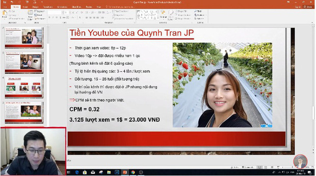 Xôn xao thông tin Quỳnh Trần JP thu nhập 600 triệu/tháng từ Youtube, bất ngờ nhất là chính chủ cũng vào bình luận cực xôm - Ảnh 2.