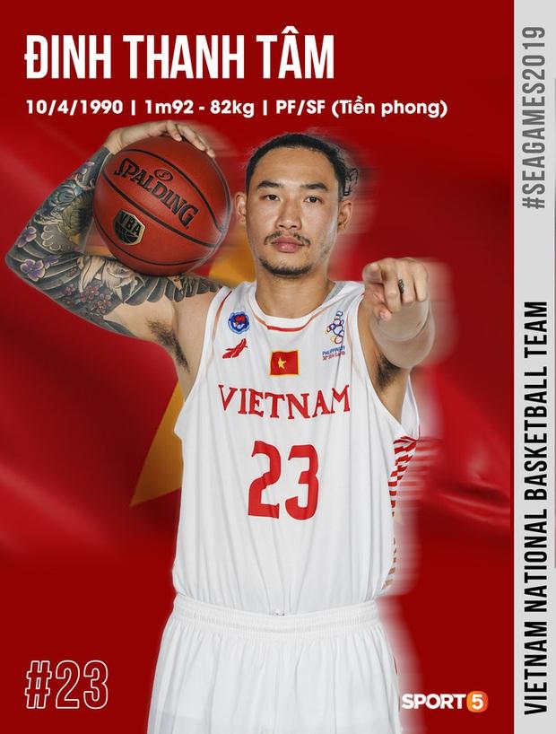 Profile đẹp long lanh của 12 cái tên chính thức trong danh sách tuyển bóng rổ Việt Nam săn huy chương SEA Games 30 - Ảnh 1.