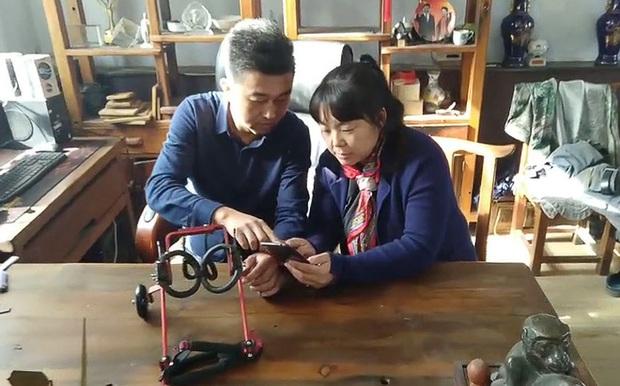 Hành trình từ công nhân nghèo khó trở thành ông vua xe lăn cho thú cưng ở Trung Quốc - Ảnh 2.