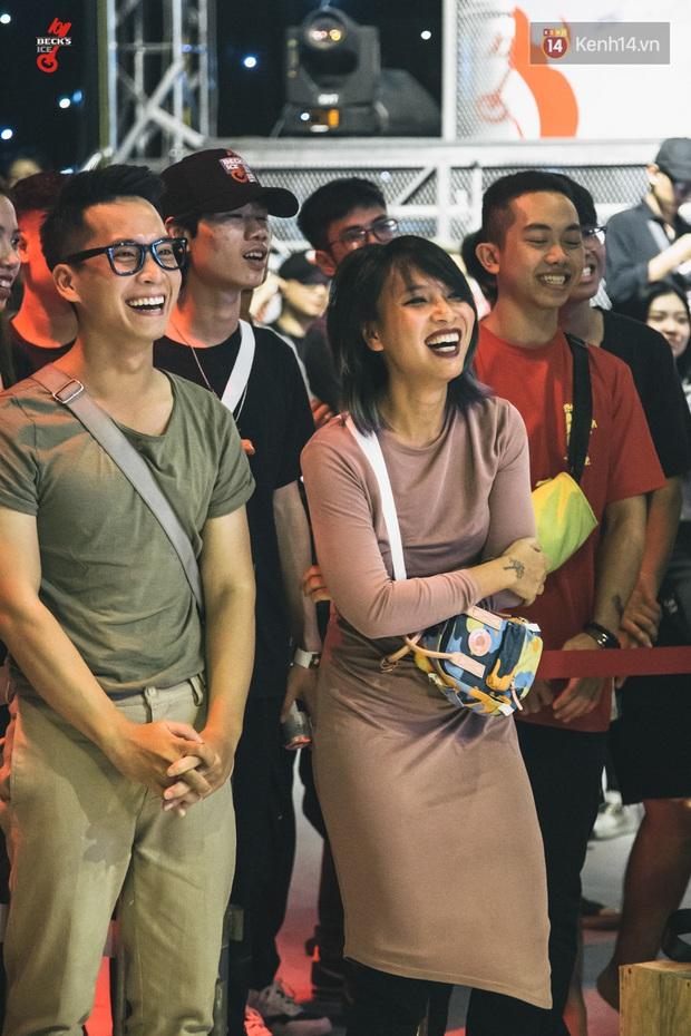 Binz, Đen Vâu, Đông Nhi, Ông Cao Thắng đồng loạt trở thành nguồn cảm hứng cho những câu punchline chất lừ tại Beck'Stage Battle Rap - Ảnh 6.