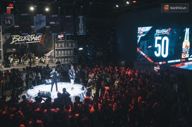 Binz, Đen Vâu, Đông Nhi, Ông Cao Thắng đồng loạt trở thành nguồn cảm hứng cho những câu punchline chất lừ tại Beck'Stage Battle Rap - Ảnh 8.