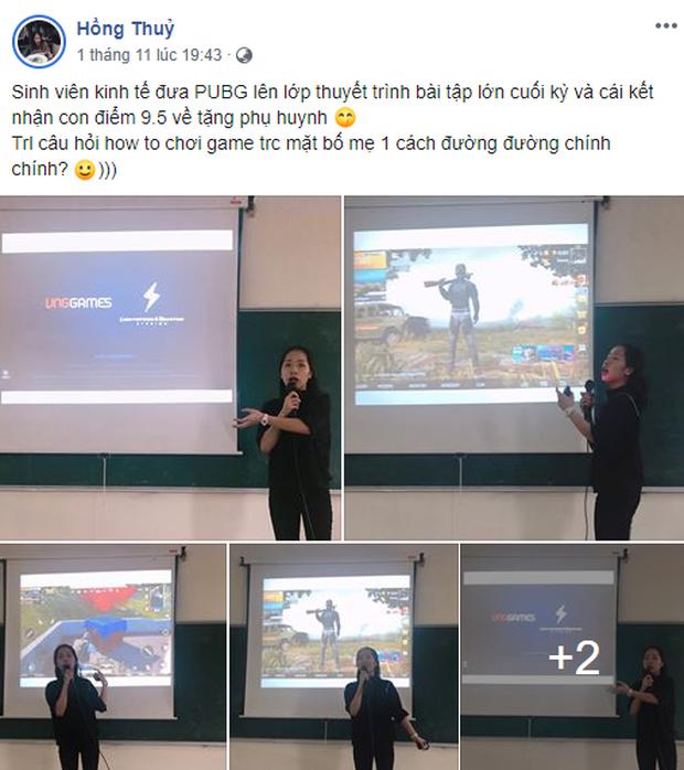 Mang game PUBG lên giảng đường, cô sinh viên suýt nữa thì giành được điểm tuyệt đối - Ảnh 1.