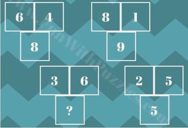 85% người không giải được 5 bài toán tìm quy luật điền đáp án sau dấu chấm hỏi - Ảnh 4.