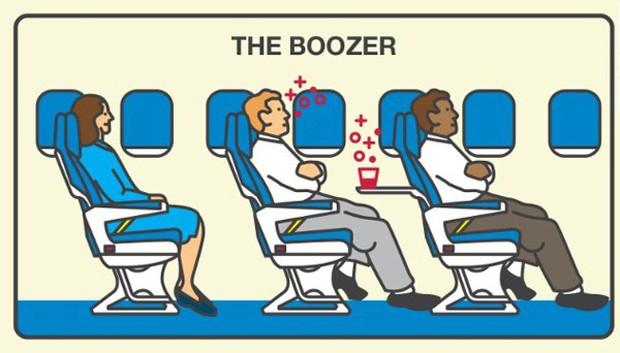 """Những hành động """"tra tấn"""" người khác khi đi máy bay, ai gặp phải thì đúng là cực hình! - Ảnh 5."""