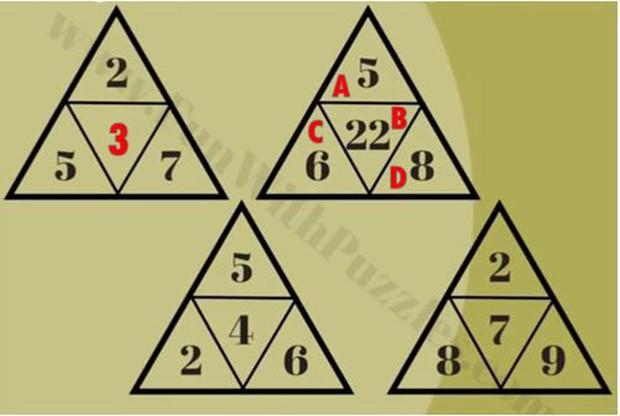 85% người không giải được 5 bài toán tìm quy luật điền đáp án sau dấu chấm hỏi - Ảnh 10.