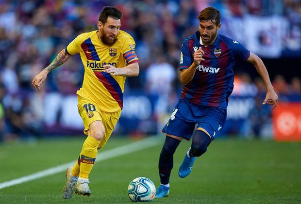 Messi mở tỷ số từ chấm phạt đền, Barcelona vẫn bất ngờ sụp đổ trong 8 phút và đại bại trước đối thủ ít ai ngờ tới - Ảnh 6.