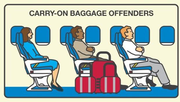 """Những hành động """"tra tấn"""" người khác khi đi máy bay, ai gặp phải thì đúng là cực hình! - Ảnh 7."""