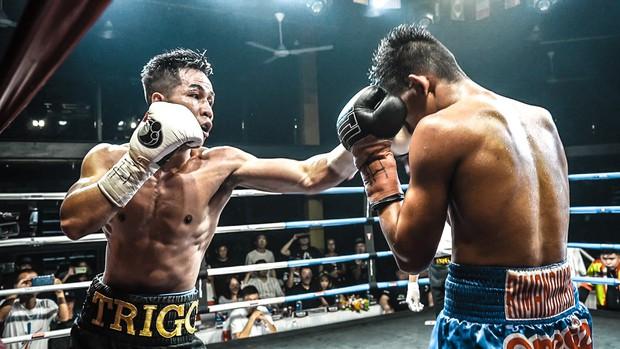 Trở lại sau chấn thương, nhà vô địch WBC Trần Văn Thảo làm rạng danh boxing Việt bằng chiến thắng trước đối thủ cực mạnh người Philippines - Ảnh 1.