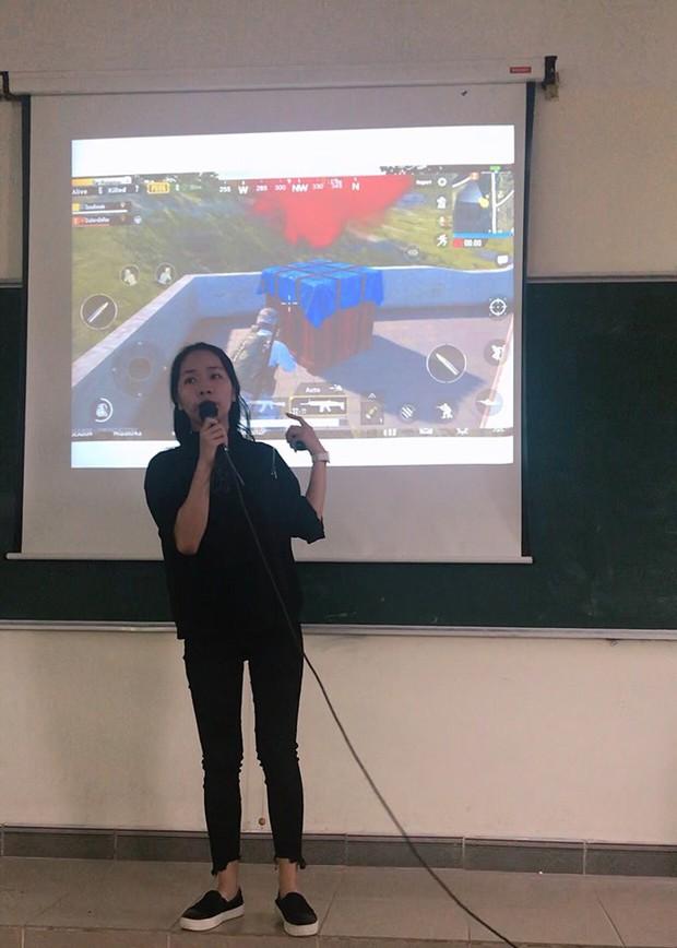 Mang game PUBG lên giảng đường, cô sinh viên suýt nữa thì giành được điểm tuyệt đối - Ảnh 2.