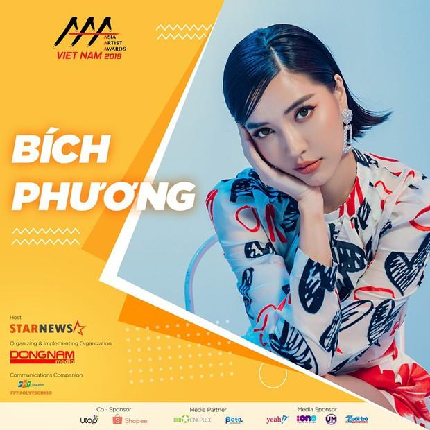 Bích Phương là ca sĩ Việt duy nhất góp mặt tại AAA 2019 bên cạnh loạt sao Hàn như Yoona (SNSD), TWICE, Kang Daniel... - Ảnh 1.