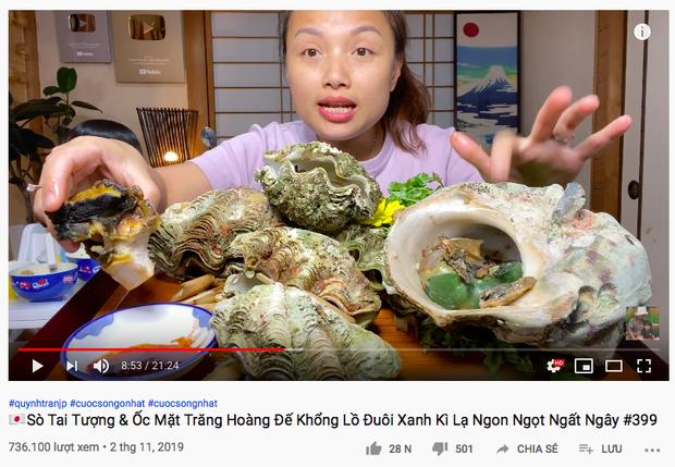 Món sò tai tượng trong vlog Quỳnh Trần JP hoá ra là đặc sản quý, từng khiến 1 nữ diễn viên Hàn đối diện án tù sau khi ăn - Ảnh 2.
