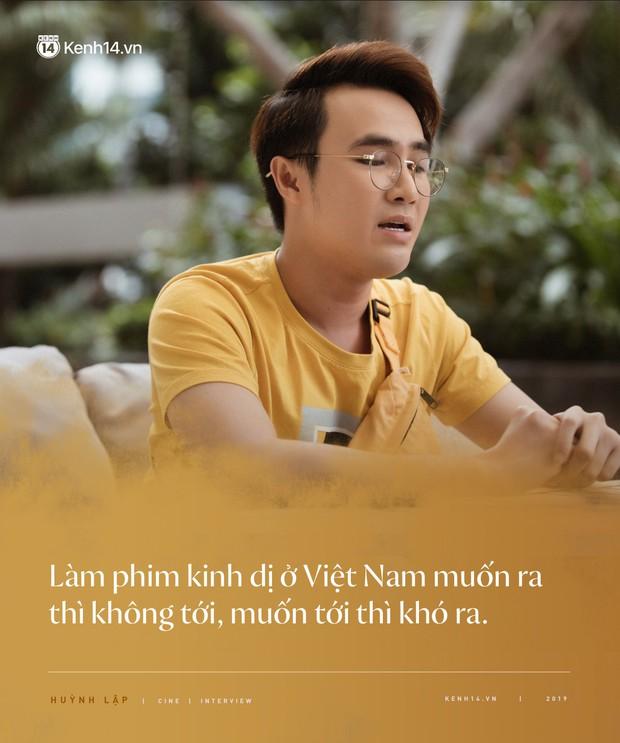 Pháp Sư Mù Huỳnh Lập:  Làm phim kinh dị ở Việt Nam muốn ra thì không tới, muốn tới thì khó ra! - Ảnh 2.