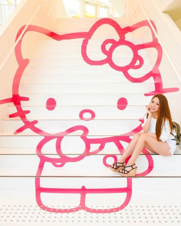 Phát sốt thiên đường Hello Kitty vừa lộ diện ở Nhật Bản, mỗi khi thấy chán đời tìm đến đây là vui lên ngay! - Ảnh 15.