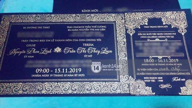 HOT: Lộ thiệp cưới cùng thông tin chính thức về đám cưới của Bảo Thy, chỉ sau Đông Nhi đúng 1 tuần? - Ảnh 1.