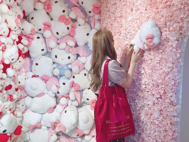 Phát sốt thiên đường Hello Kitty vừa lộ diện ở Nhật Bản, mỗi khi thấy chán đời tìm đến đây là vui lên ngay! - Ảnh 4.