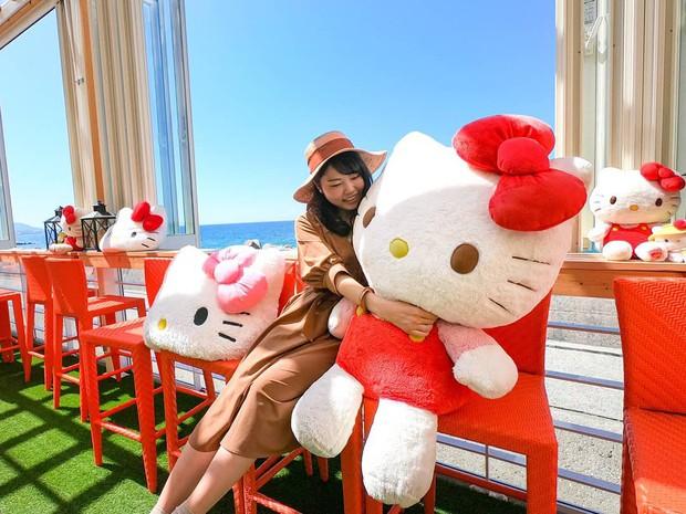 Phát sốt thiên đường Hello Kitty vừa lộ diện ở Nhật Bản, mỗi khi thấy chán đời tìm đến đây là vui lên ngay! - Ảnh 5.